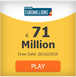 #EuroMillions 71 million and rain of millions: odds, clubs