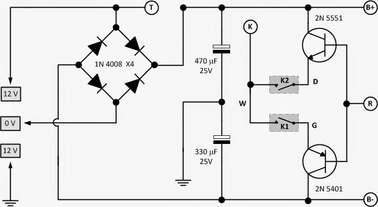 Service Electonics  Diagram Stabilizer