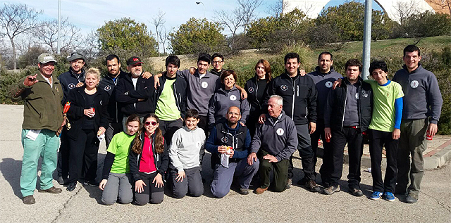 Club Tiro con Arco Aranjuez en Fuenlabrada