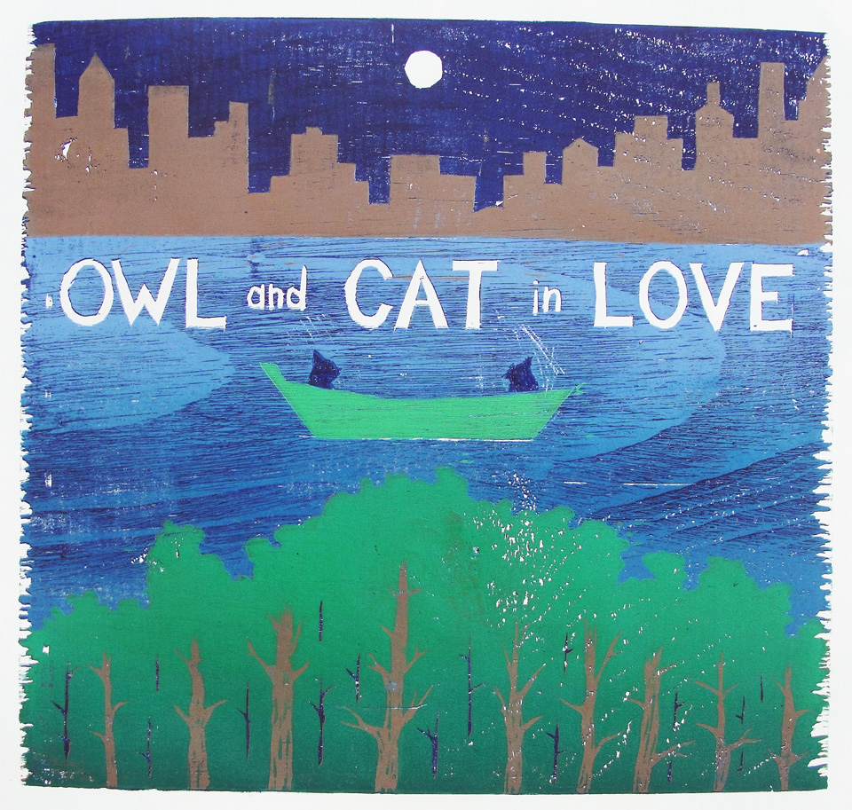 Owl and Cat In Love is now for sale!