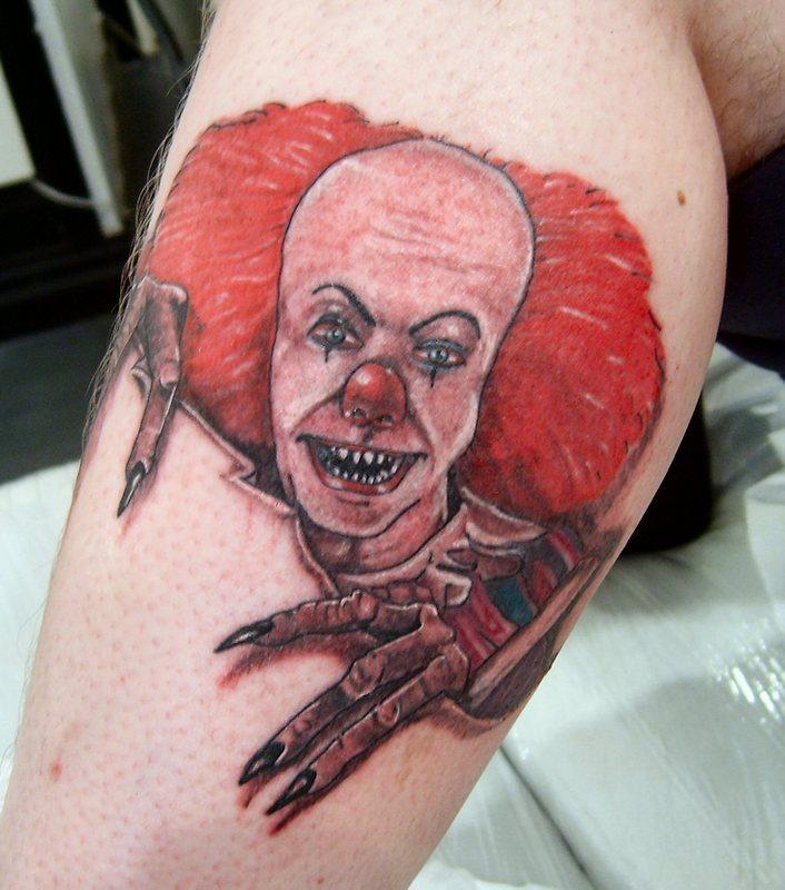 Clown Tattoos Designs