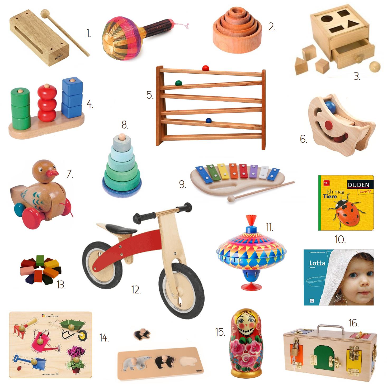 Geschenkideen für 1-2 jährige Kinder (nicht nur) zu Weihnachten ...
