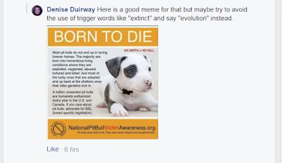 The Anti Breedism Alliance: Anti pit bull lobbyist Denise Duirway is