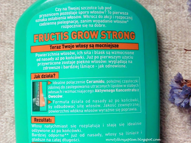 garnier fructis grow strong, odzywka grow strong