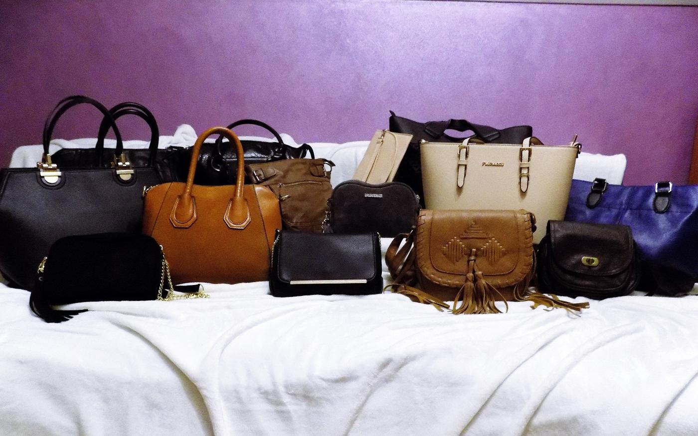 3e541039e8f25 Nie są to wszystkie torebki, bo niektórych nie warto pokazywać. Mam  nadzieję, że za rok będę mogła się Wam pochwalić już jedną markową.
