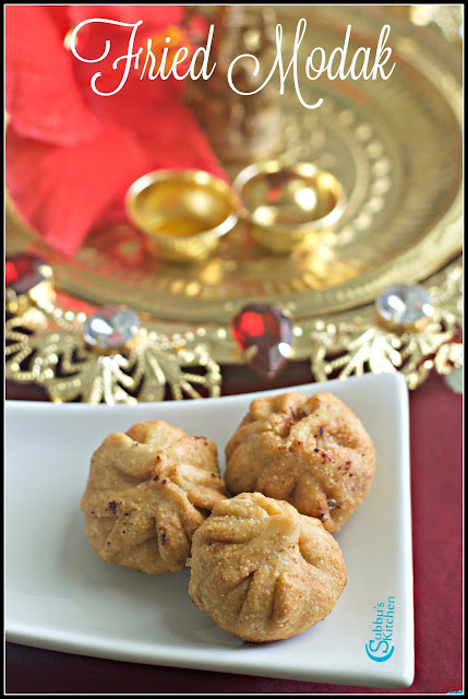 Modhagam Recipe | Fried Modak Recipe