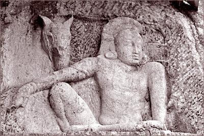 Sculpture of Man and Horse at Isurumuniya - The Archaeology News ...