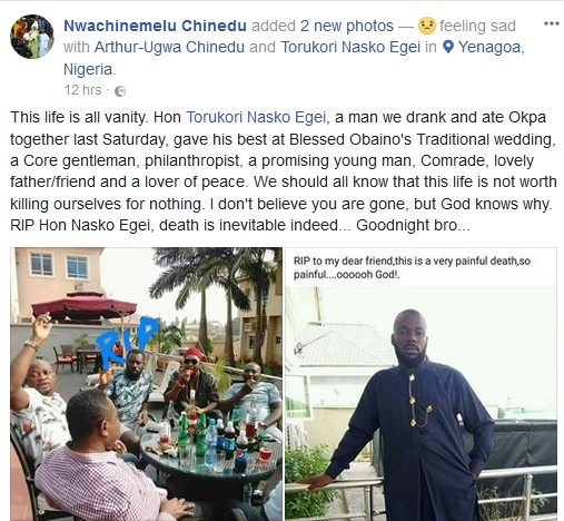 Former SSA to Bayelsa Governor Found Dead in His Hotel Room Few Days to Christmas (Photos)