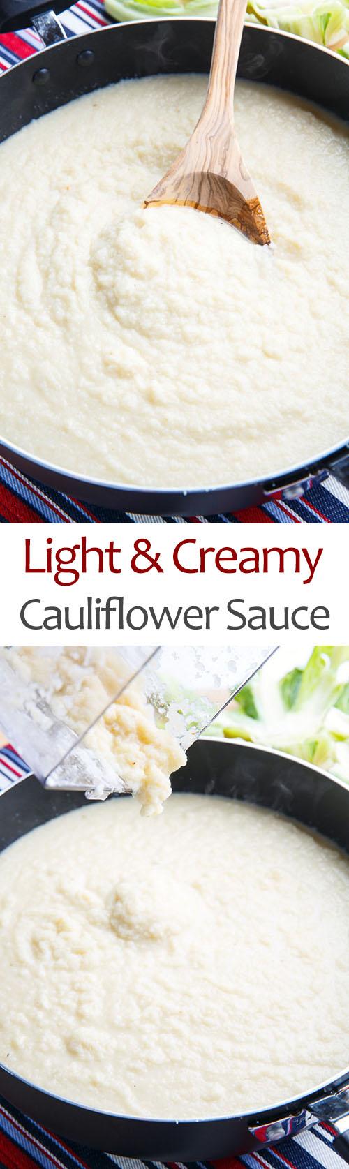 Light and Creamy Cauliflower Sauce