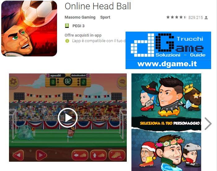 Trucchi Online Head Ball Mod Apk Android v19.8
