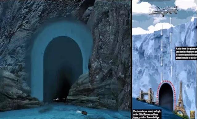 Βρέθηκαν περίεργα τούνελ ψηλά σαν τον Πύργο του Άιφελ στην Ανταρκτική; [Βίντεο]