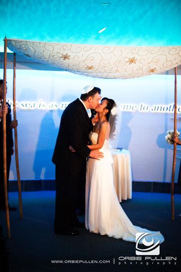Monterey Bay Aquarium Wedding Christine O Donnell
