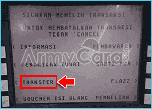cara transfer uang lewat atm bca ke rekening bri