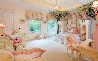 ห้องนอนเด็กหญิง่น่ารักๆ