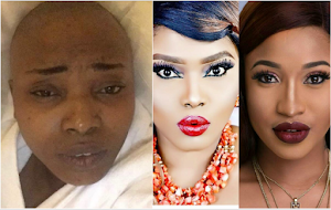 Tonto Dikeh takes care of actress Halima Abubakar, picks her from hospital