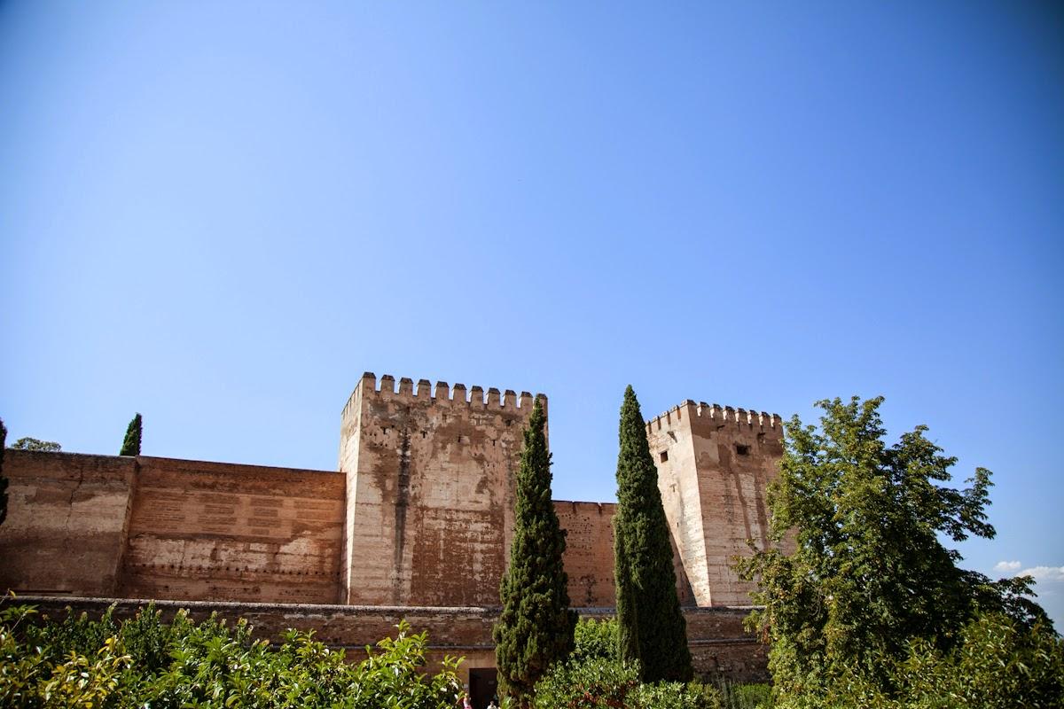 Murallas de la Alhambra de Granada