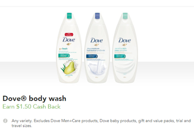 Dove Body Wash for $1.27