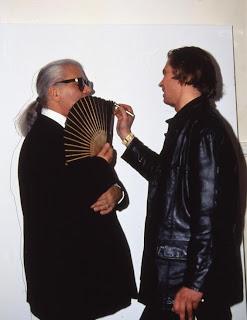 Klaus Guingand & Karl Lagerfeld