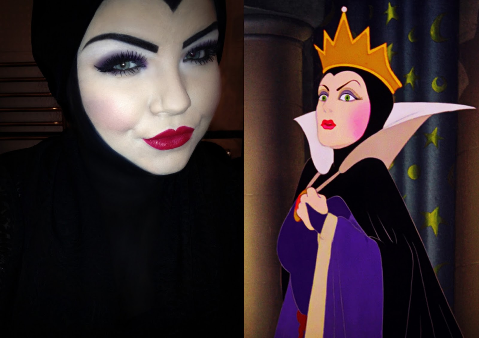 halloween makeup: disney's the evil queen - she might be loved