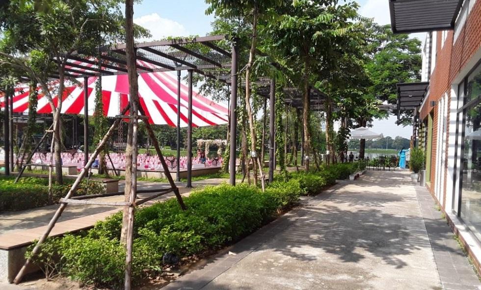 Một góc trung tâm thương mại Le PARC by Gamuda