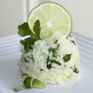 Lime ciliantro rice - Ioanna's Notebook
