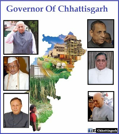 Governors of Chhattisgarh updates by www.EChhattisgarh.in