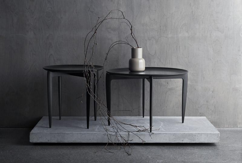 tavolino con vassoio grande