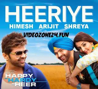 HEERIYE-LYRICS-HAPPY HARDY AND HEER | Arijit Singh | Shreya Ghoshal