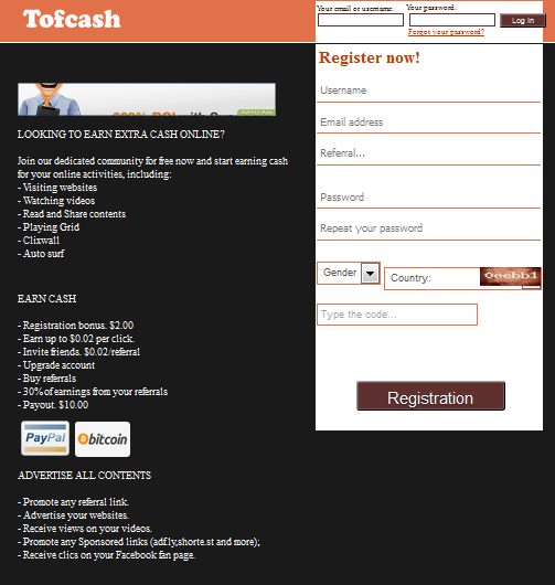 Tofcash.Com