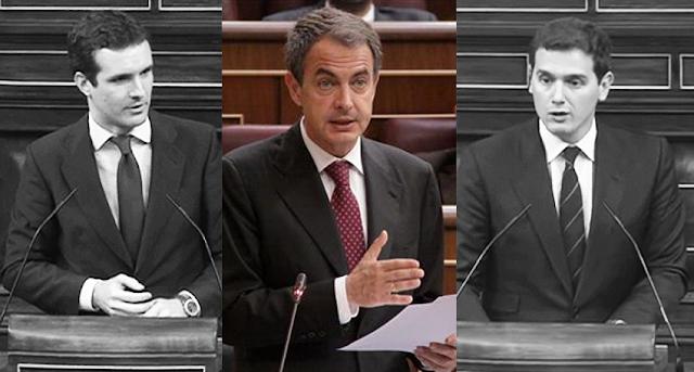 PP y C's atacan al ex presidente Zapatero que pide diálogo con Cataluña