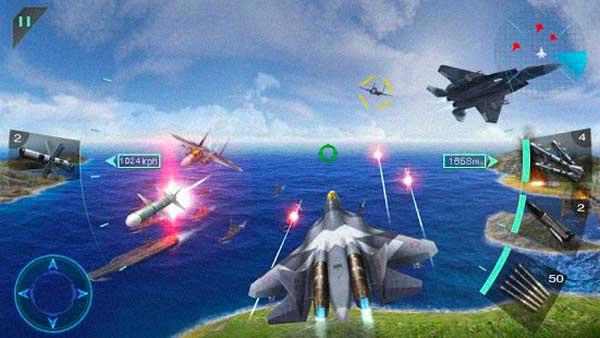 تحميل لعبة Sky Fighters مهكرة آخر اصدار