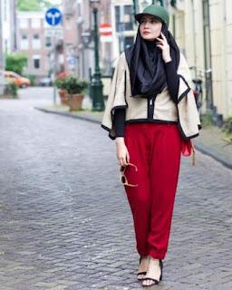 gaya berpakaian vintage zaskia sungkar