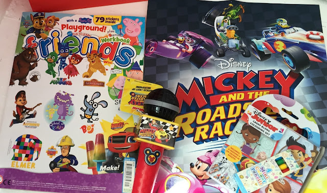 Mickey Roadster Racers Goody Bag