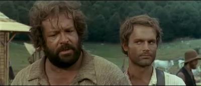 Bud Spencer és Terence Hill az ördög jobb és bal keze