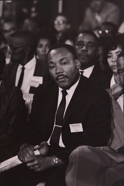 MARTIN LUTHER KING FUNERAL APRIL 9, 1968: LISL STEINER IN ACTION