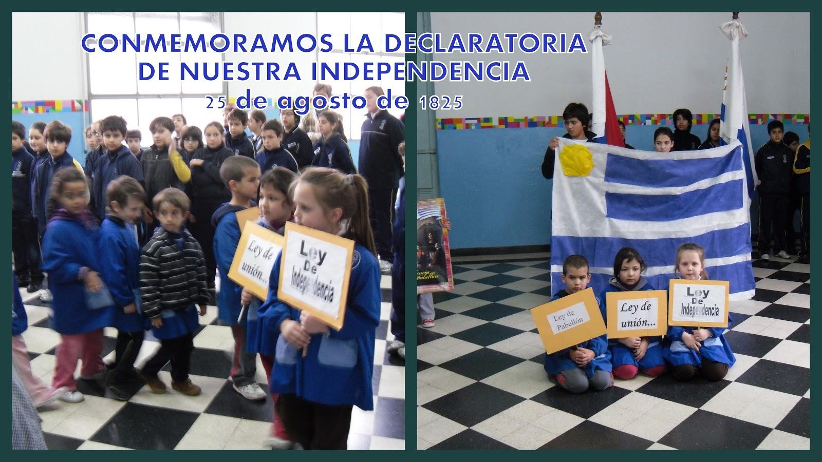 Vecchio En Nuestra Independencia Reafirmamos El: EL DIARIO DE IMA: DECLARATORIA DE NUESTRA INDEPENDENCIA