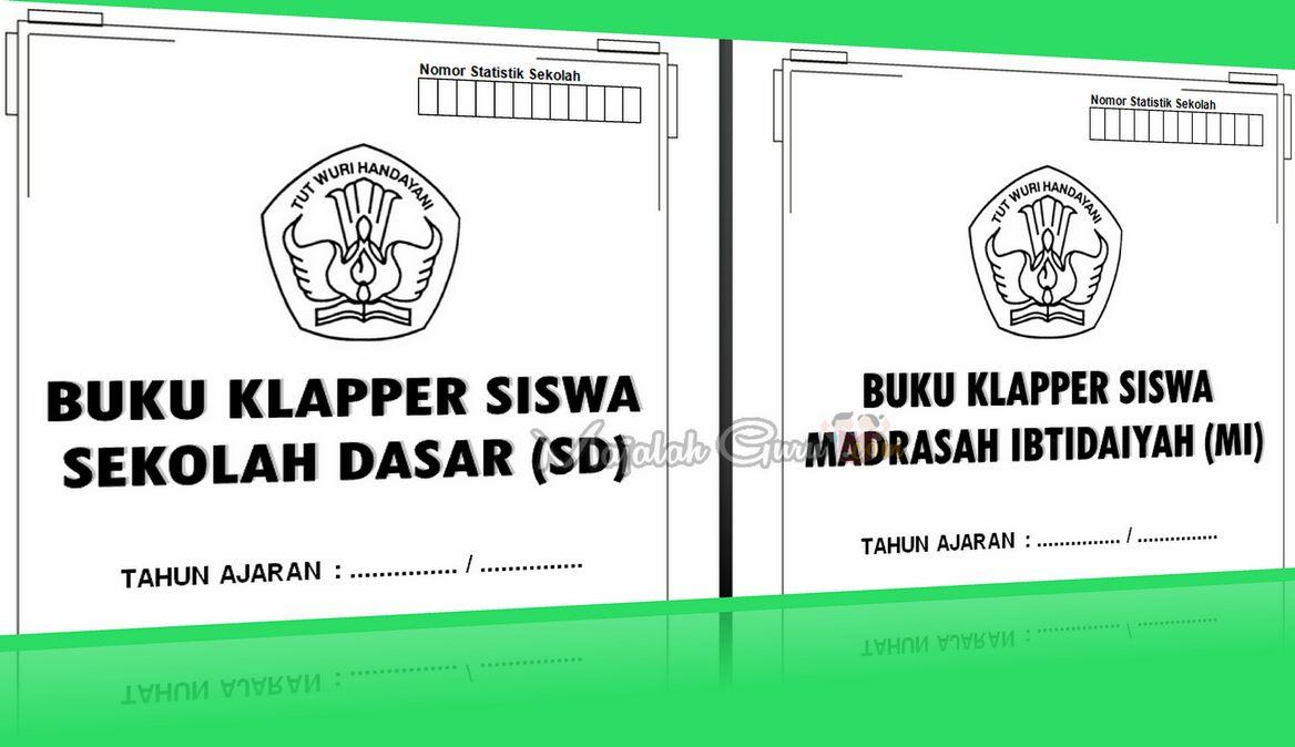 Buku Klapper SD, SMP, SMA Tahun Pelajaran 2016