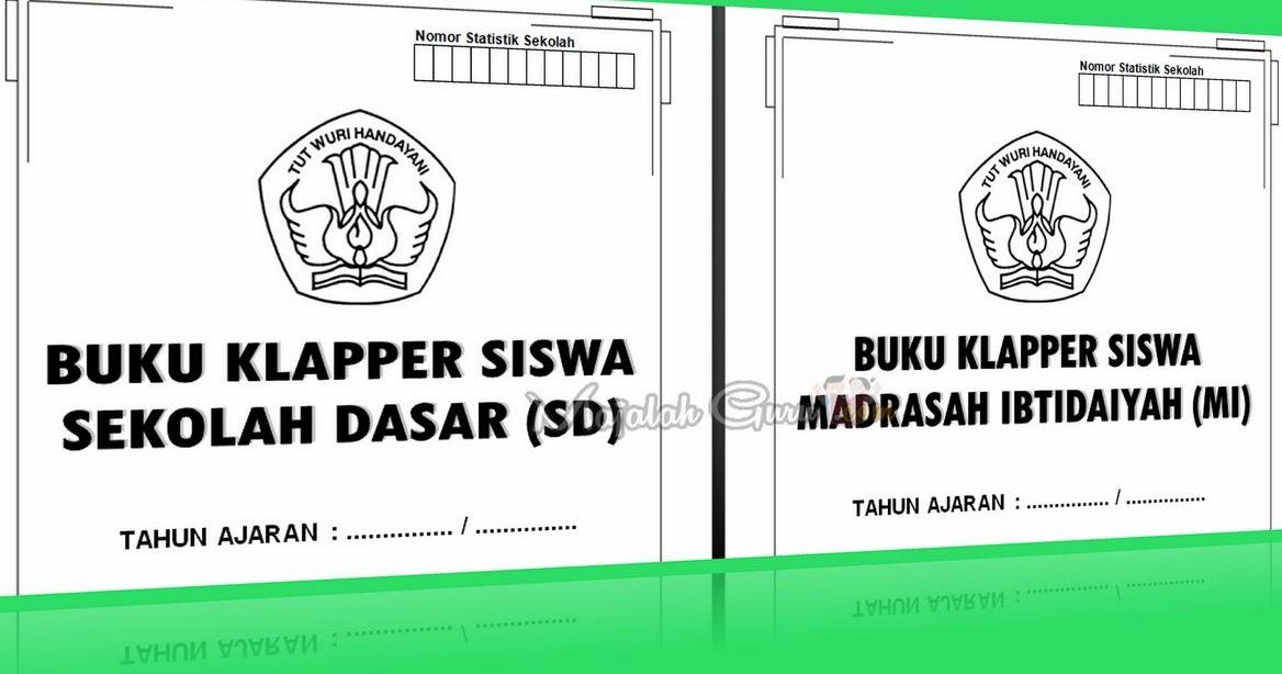 Buku Klapper Sd Smp Sma Tahun Pelajaran 2016 Operator Sekolah