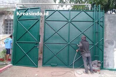 Jasa Pembuatan Pintu Besi Gudang Seluruh Jabodetabek dan Sekitarnya