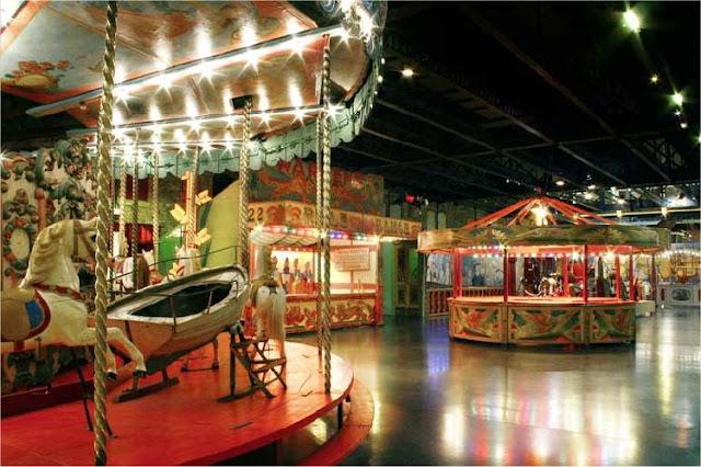 Musée des Arts Forains para crianças em Paris