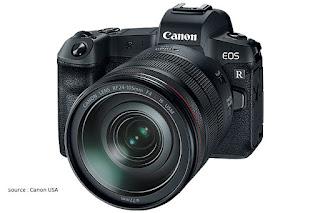 Spesifikasi dan harga Canon EOS R mirrorless fullframe canon