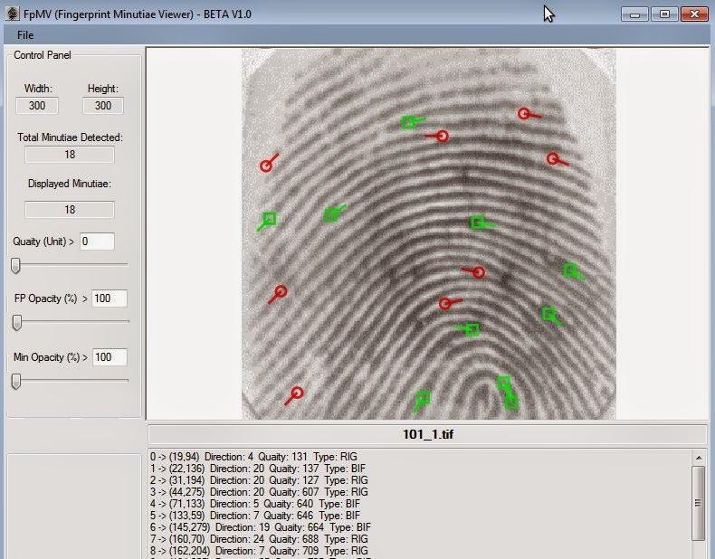 Adventures in the Land of Binaries: pgAFIS: Biometric Elephant