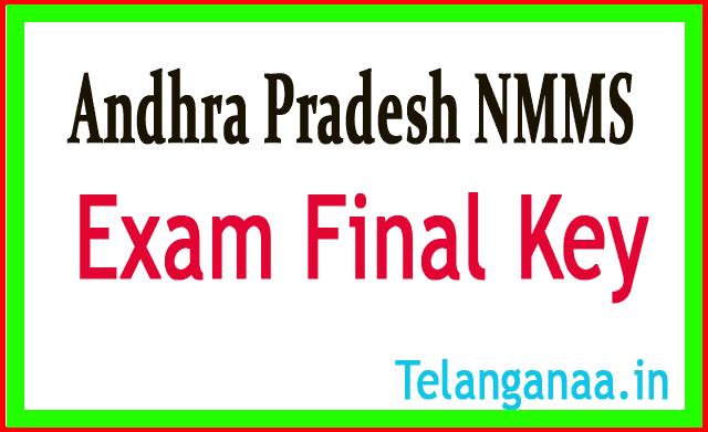 Directorate of Govt Andhra Pradesh NMMS Exam Final Key