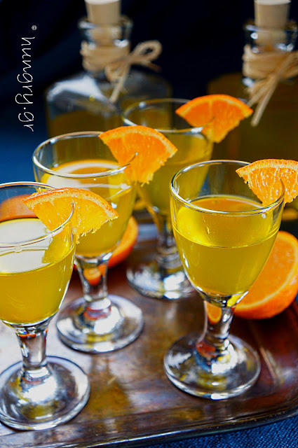 Homemade Mandarin Liqueur