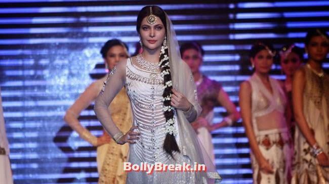 , Ankita Shorey, Konkana Bakshi sizzles on ramp for Gitanjali Show at IIJW 2014