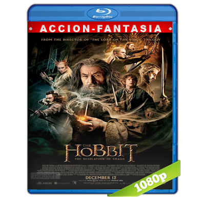 El Hobbit 2 La Desolacion De Smaug (2013) BRRip Full 1080p Audio Trial Latino-Castellano-Ingles 5.1