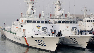 Kapal Patroli Kelas Haeuri Korea Coast Guard