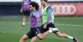 9caf5ea565a ... Marcelo has received camouflaged boots after he previously wore Adidas   last-gen Adidas X SL soccer cleats. He already wore camouflaged Adidas F50  ...
