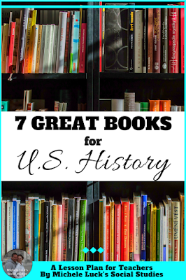 Reading full length books in U.S. History can be a great way for addressing core content and practicing skills. These seven books are at the top of my list when teaching my history students. The first one is my absolute favorite!