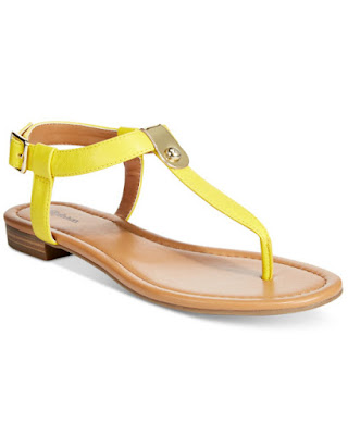 buttercup yellow sandal